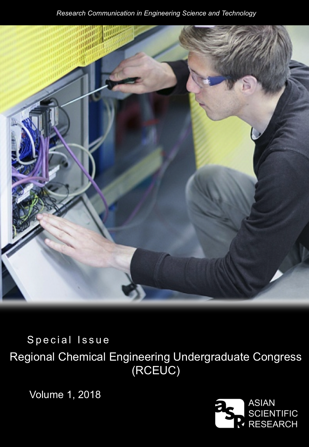 RCEST Special issue cover